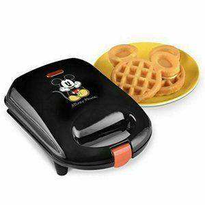 Disney Mickey Mouse Belgian Waffle Maker